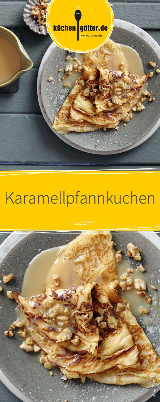 Karamellpfannkuchen Rezept Süße Pfannkuchen