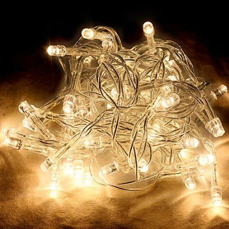 OUTDOOR INDOOR WARM WHITE LED FAIRY STRING LIGHTS WATERPROOF XMAS CONNECTABLE UK