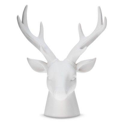 Threshold Ceramic Stag Head Small 24 99 Target