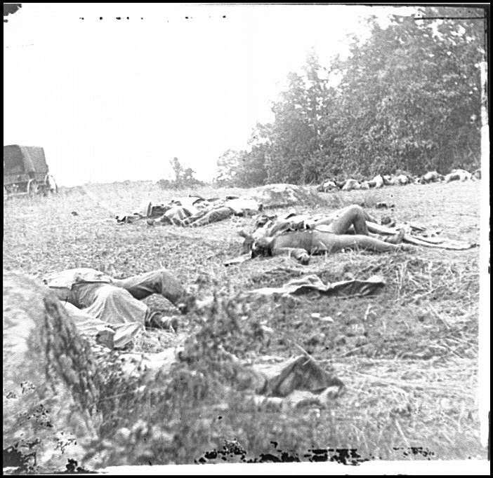 Compiled statistics of Civil War casualties on a week by
