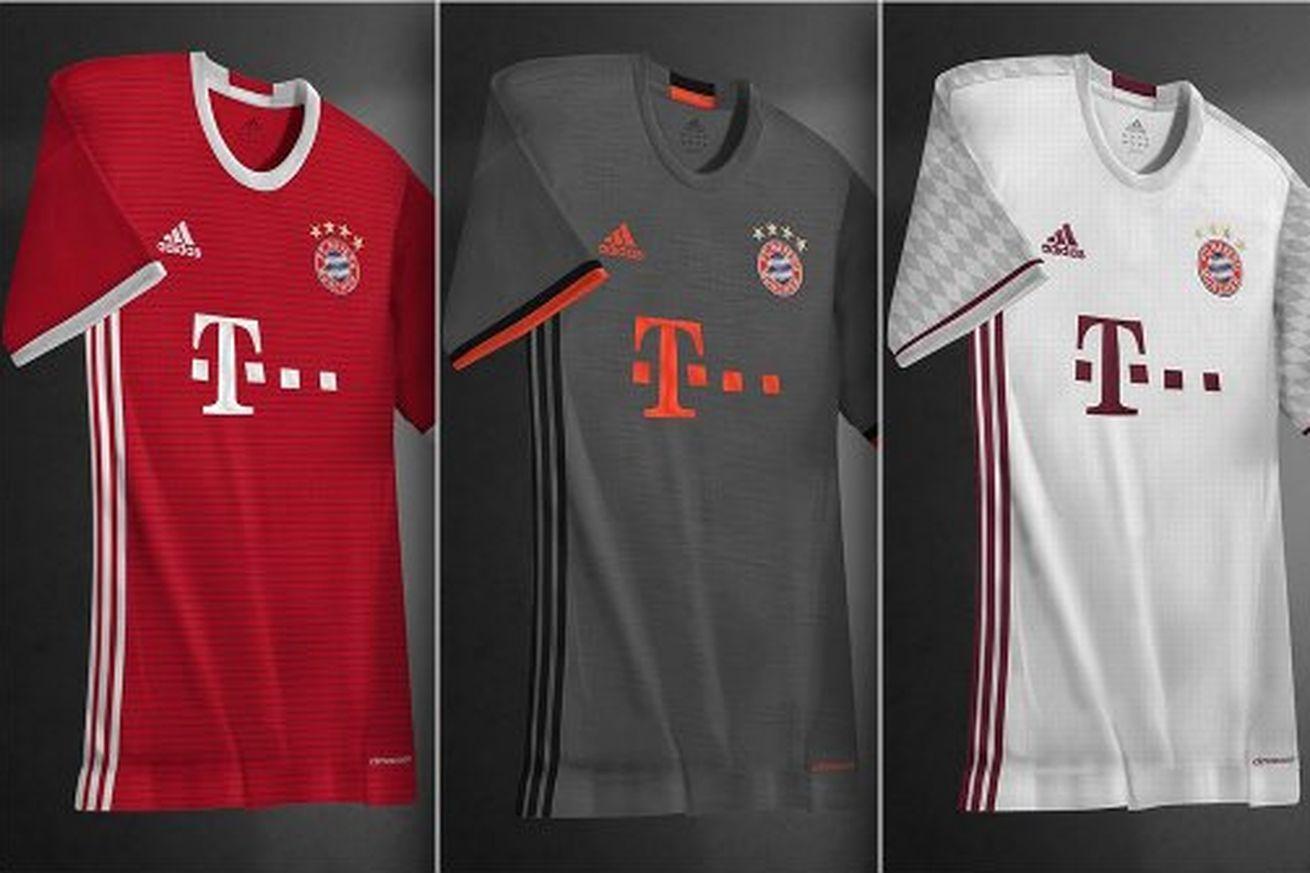 KIT LEAK  Bayern Munich 2016-17 Adidas jerseys - Bavarian Football Works 5a1877b59