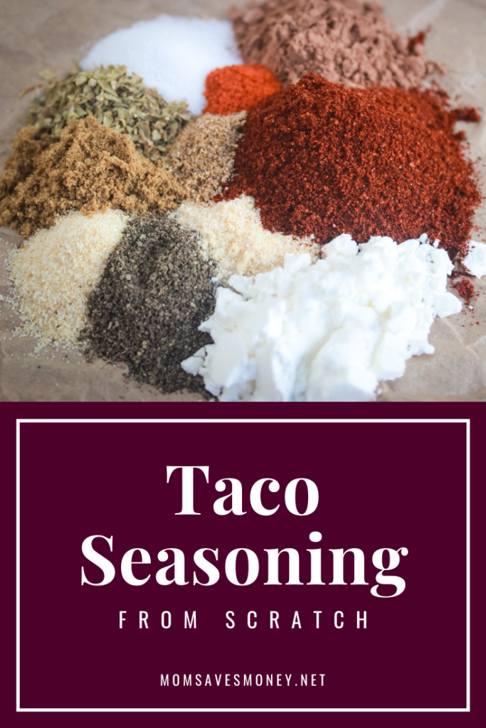 Homemade Taco Seasoning - Mom Saves Money