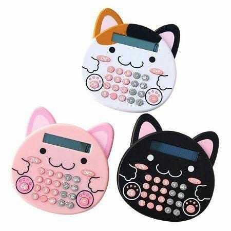 Calculatrice kawaii #kawaii #école