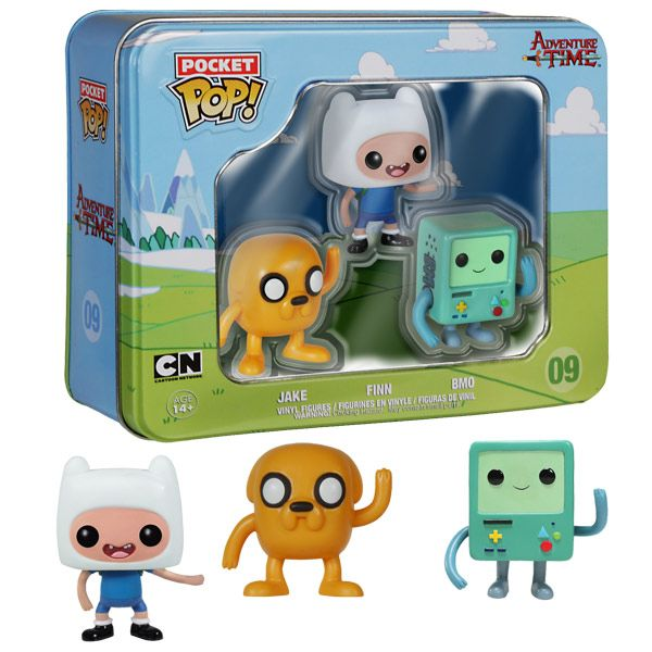 Adventure Time Pocket Pop Vinyl Figures Tin Adventure Time Vinyl Figures Mini Funko Pop