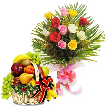 Roses with Fresh Fruits-VL