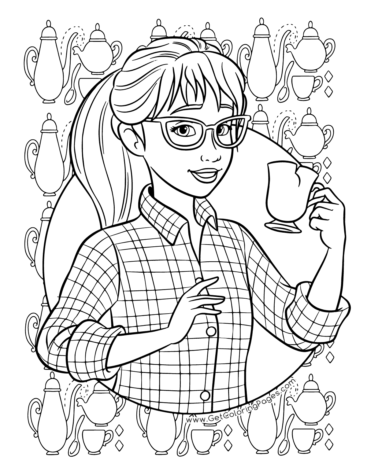 Pin By Roachella Marquez On Dj Coloring Books Barbie Coloring Pages Coloring Pages For Girls