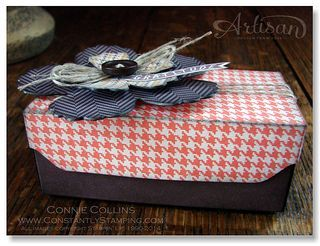Thankful Tablescape Envelope Punch Board Box