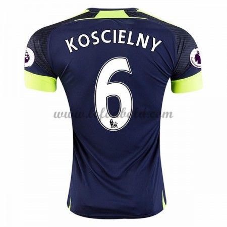 Billige Fodboldtrøjer Arsenal 2016-17 Laurent Koscielny 6 Kortærmet Tredjetrøje