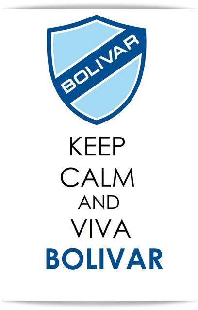 Keep Calm And Viva Bolivar Calm Bolivar Football Logo