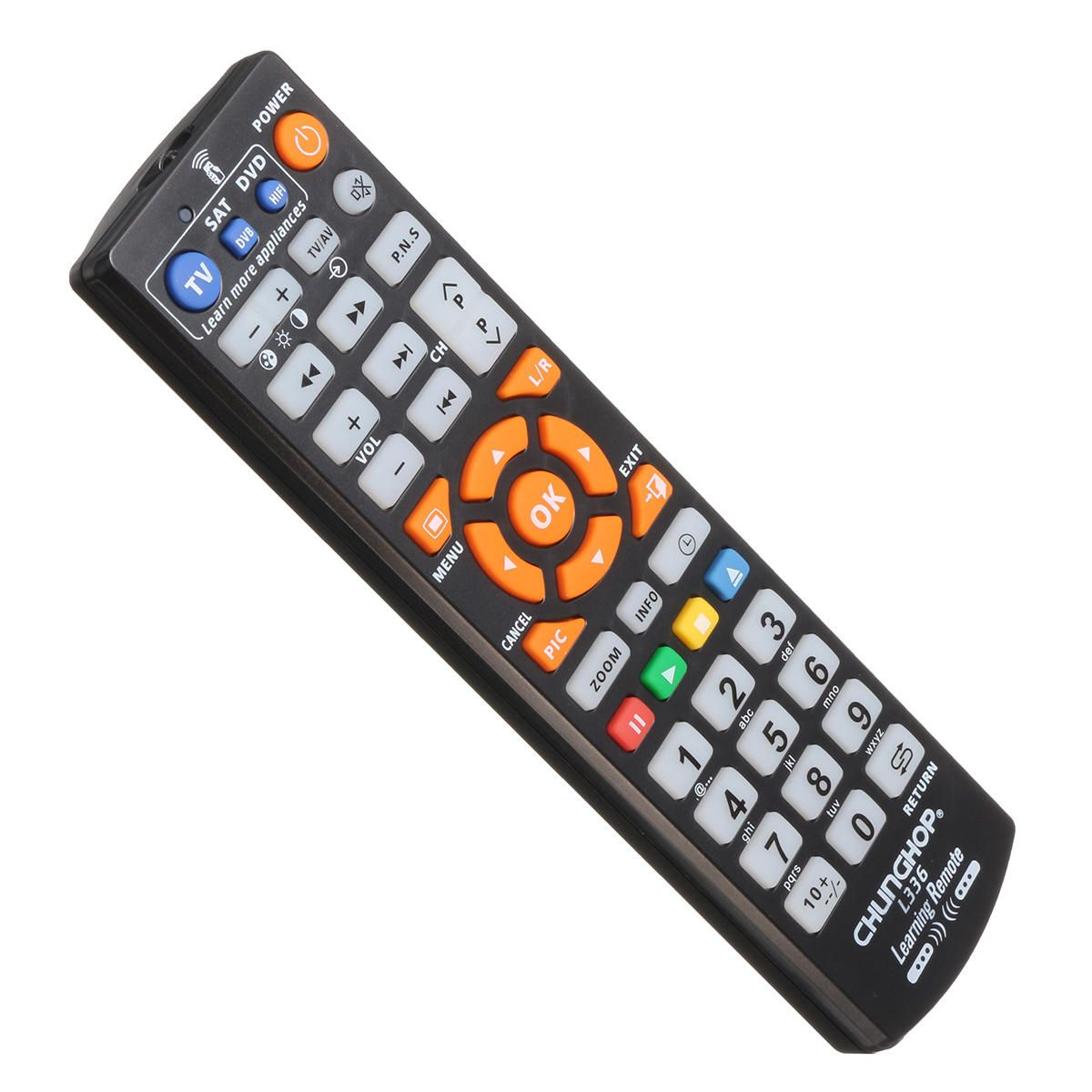 32c1abb006f [US$7.99] CHUNGHOP L336 Universal Learning Remote Control Controller With  Learn Function For TV CBL DVD SAT #chunghop #l336 #universal #learning # remote ...