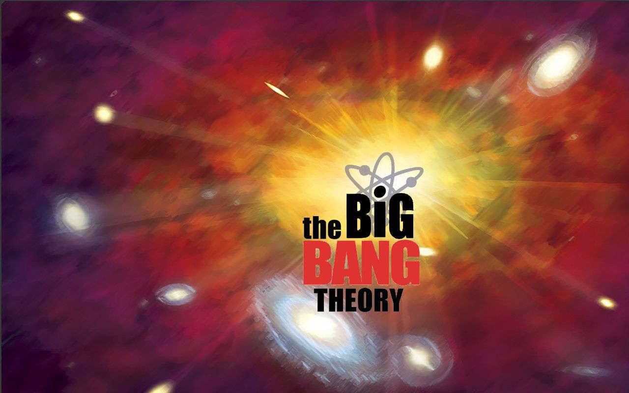 Big Bang Theory logo desktop/wallpaper Nerdy Desktops