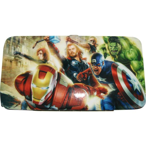 Marvel Comics Avengers Movie Group Rush Logo Clutch Wallet