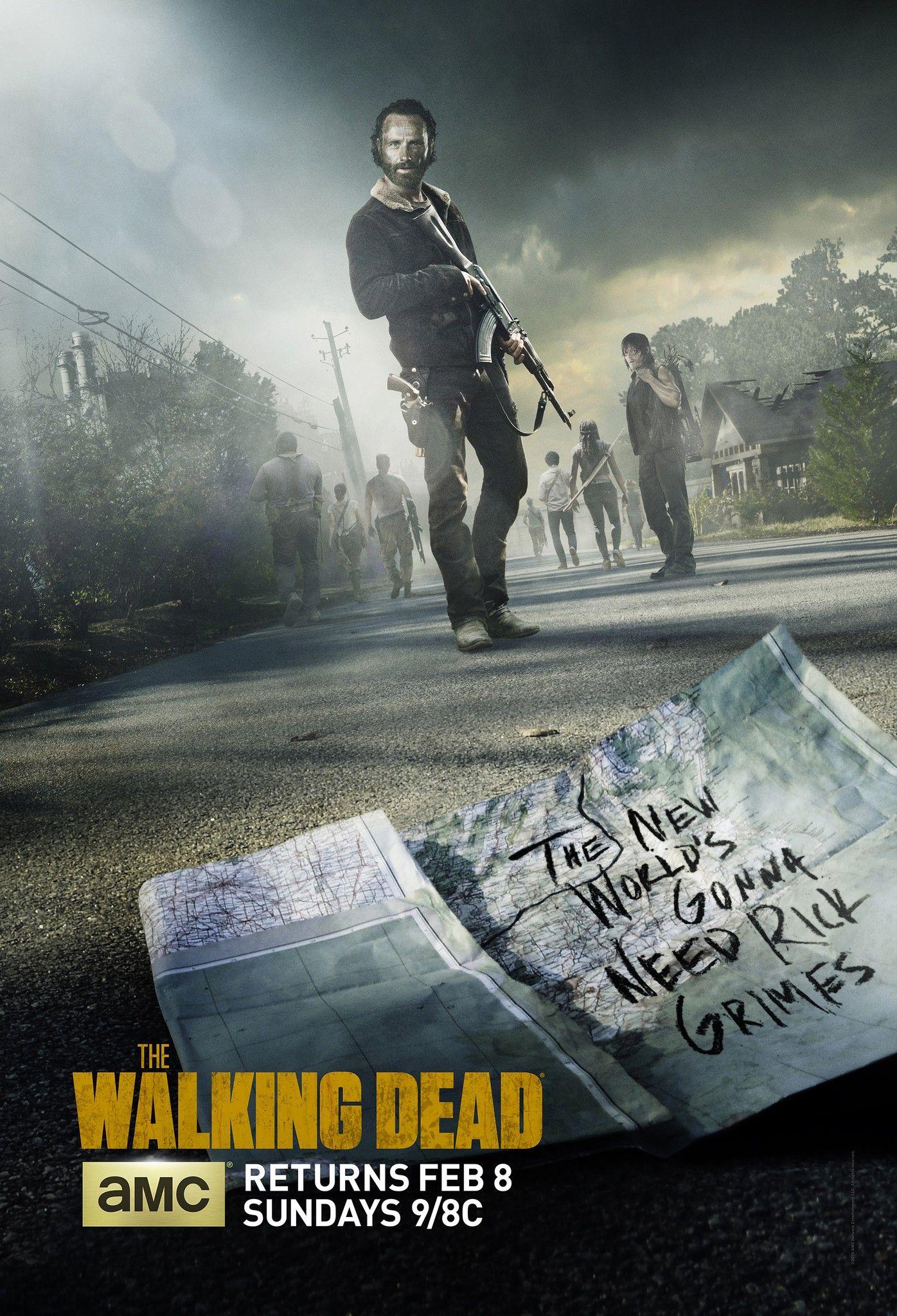 The Walking Dead Season 9 Rick Grimes Final Episodes Trailers Artwork The Walking Dead Poster Walking Dead Tv Series Walking Dead Season