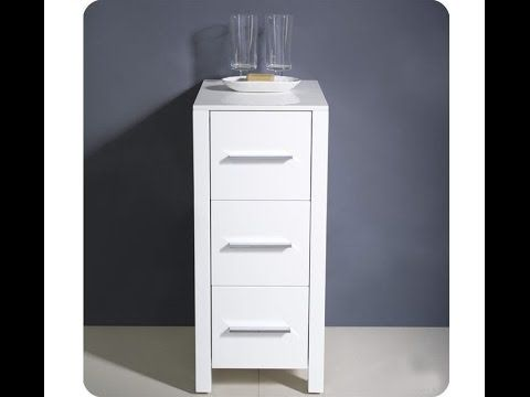White Storage Cabinet For Bathroom You