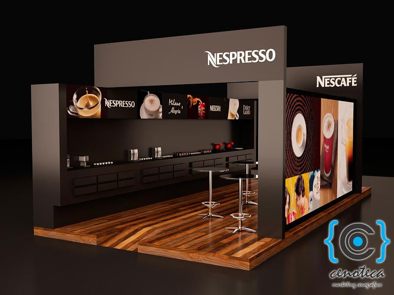 Expo Stand Designs : Stand nespresso stands exhibition design expo