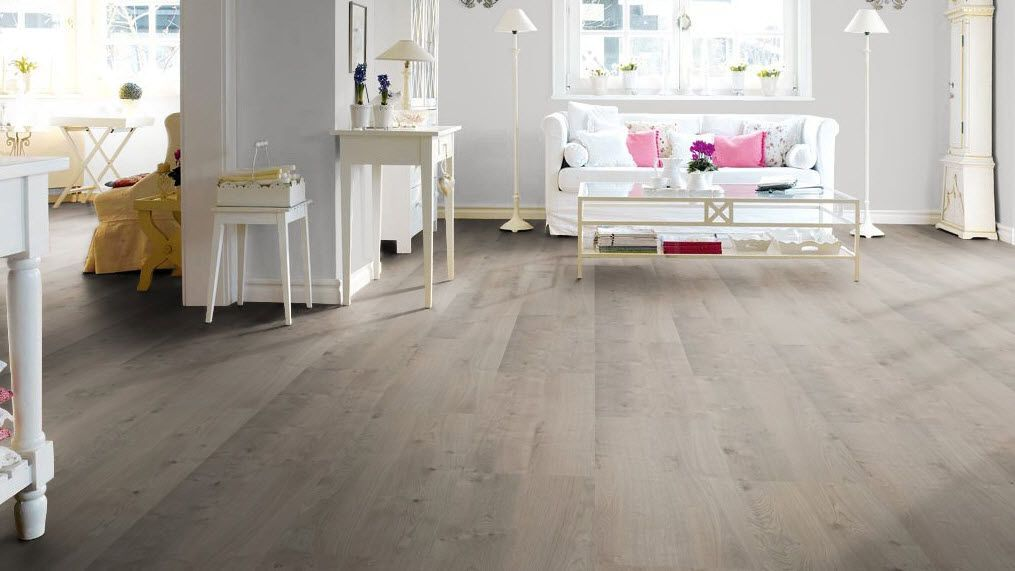 Natural cork flooring arteo oak grey haro home for Is cork flooring good for basements