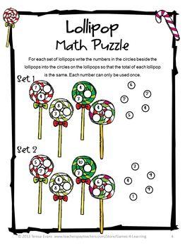 Free Christmas Math Worksheet Puzzles Christmas Math Maths Puzzles Christmas Math Worksheets