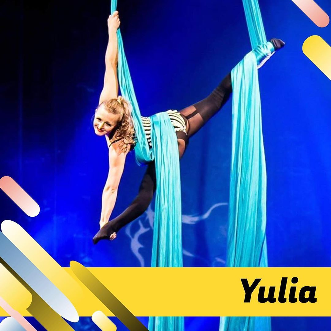 Meet our team! Yulia is an aerial instructor who specialises in vertical apparatuses, such as aerial...