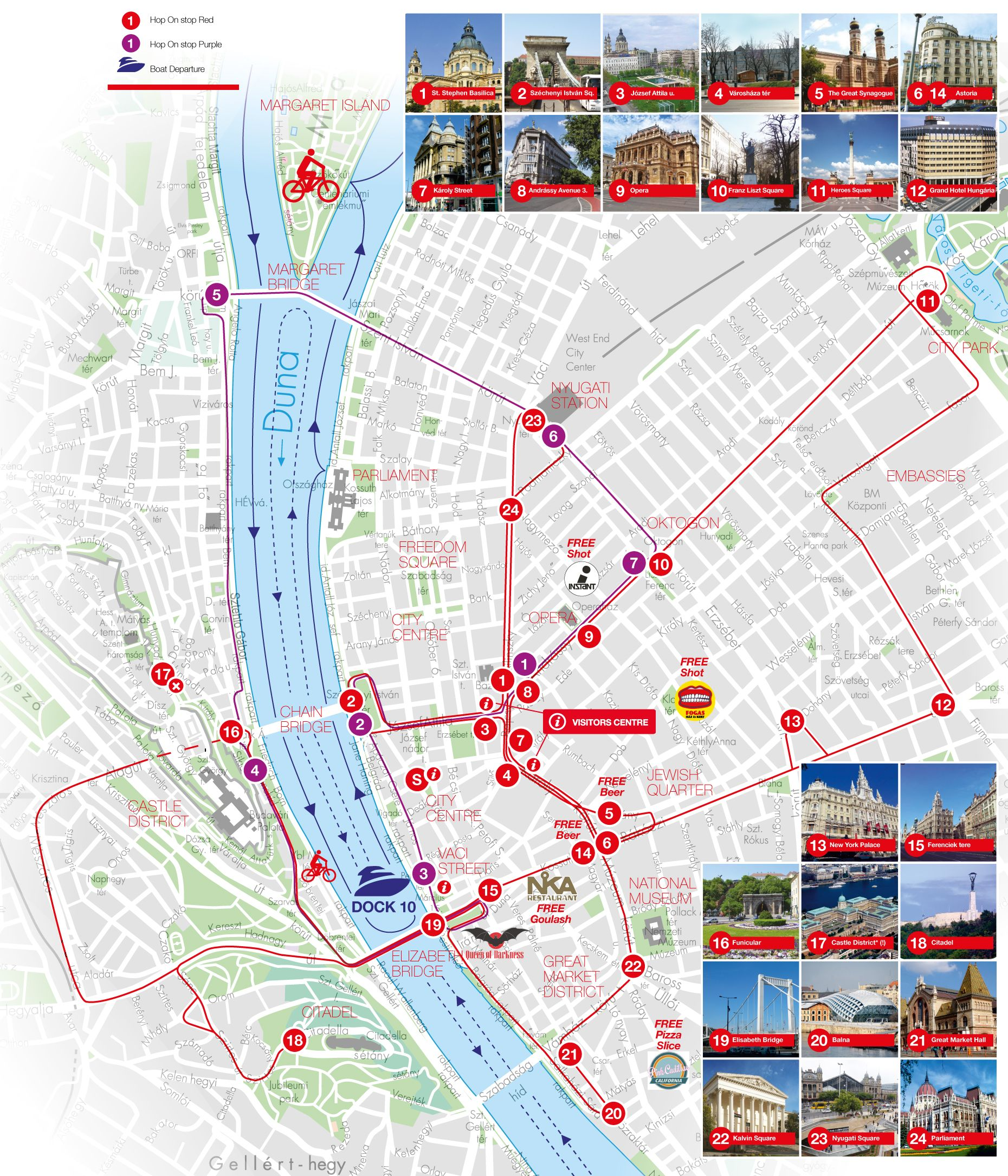City Sightseeing Budapest Hop On Hop Off Bus Tours Budapest