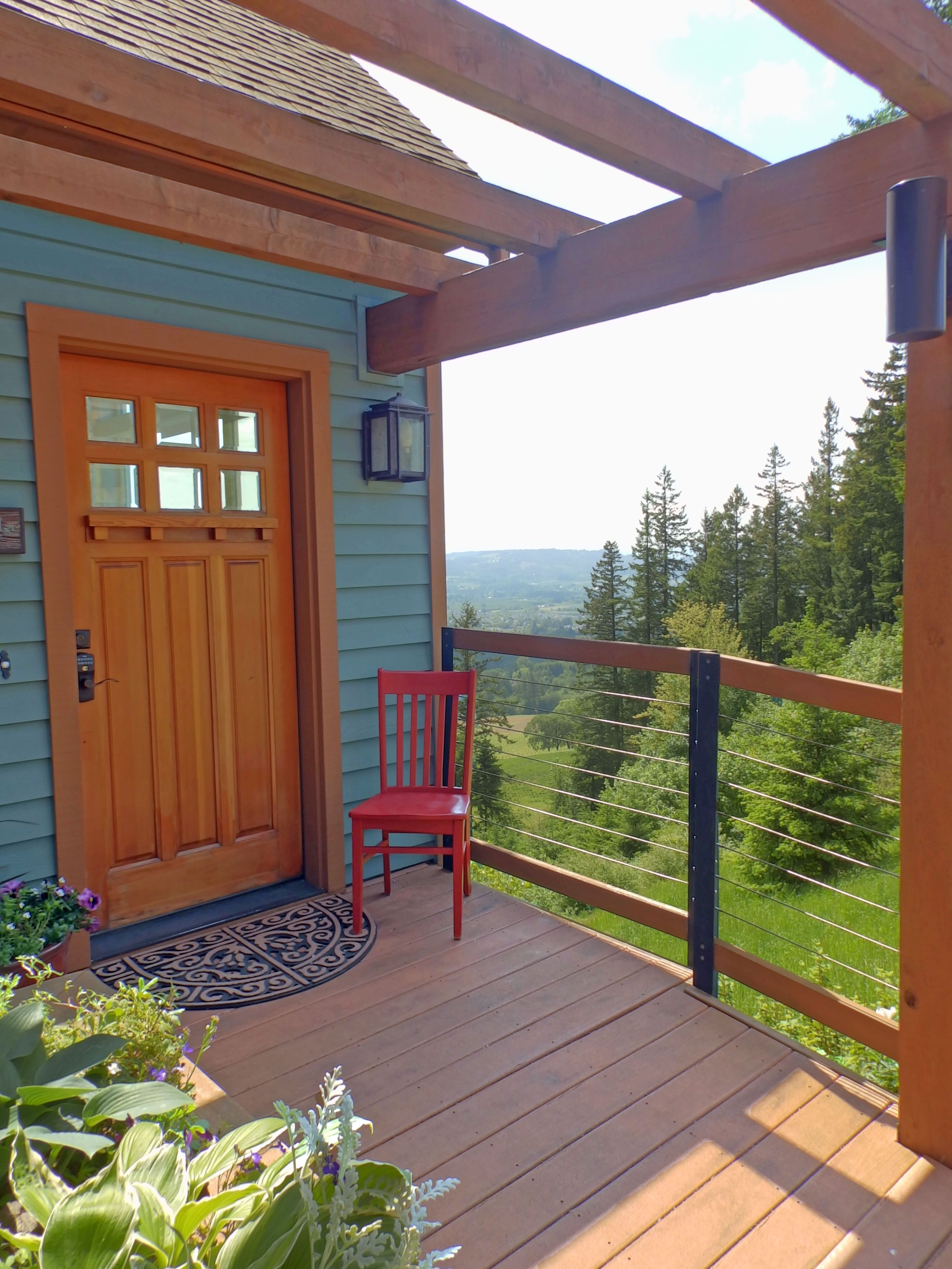 the red chair visited chehalem ridge b&b in newberg, oregon | the