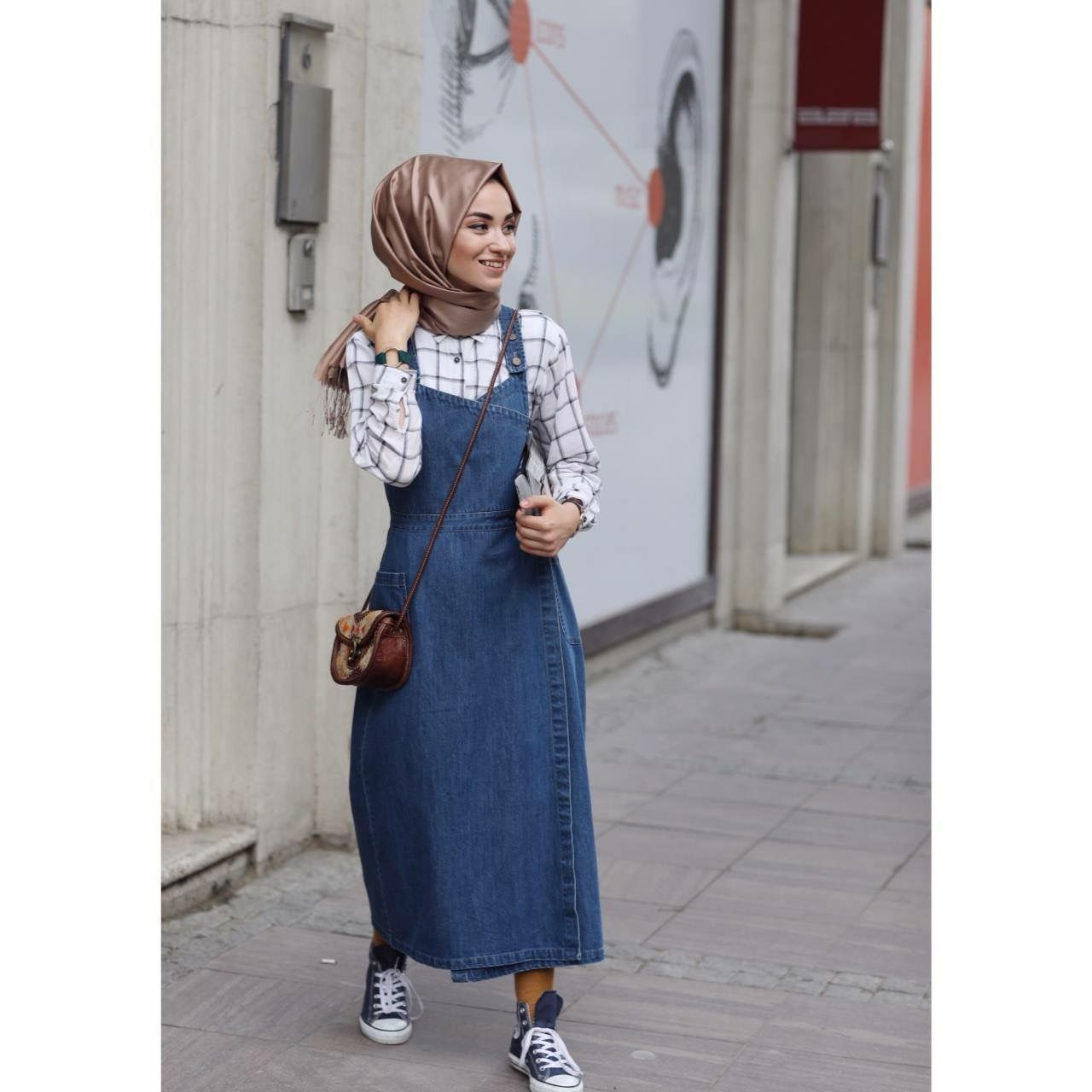 meilleures baskets 55d8b e4d7c Pin by Malak Fares on Hijabi fashion | Muslim fashion, Hijab ...