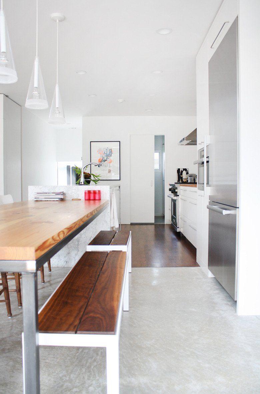 A Gorgeous Warm, Modern Kitchen — Kitchen Spotlight | Cozy, Modern ...
