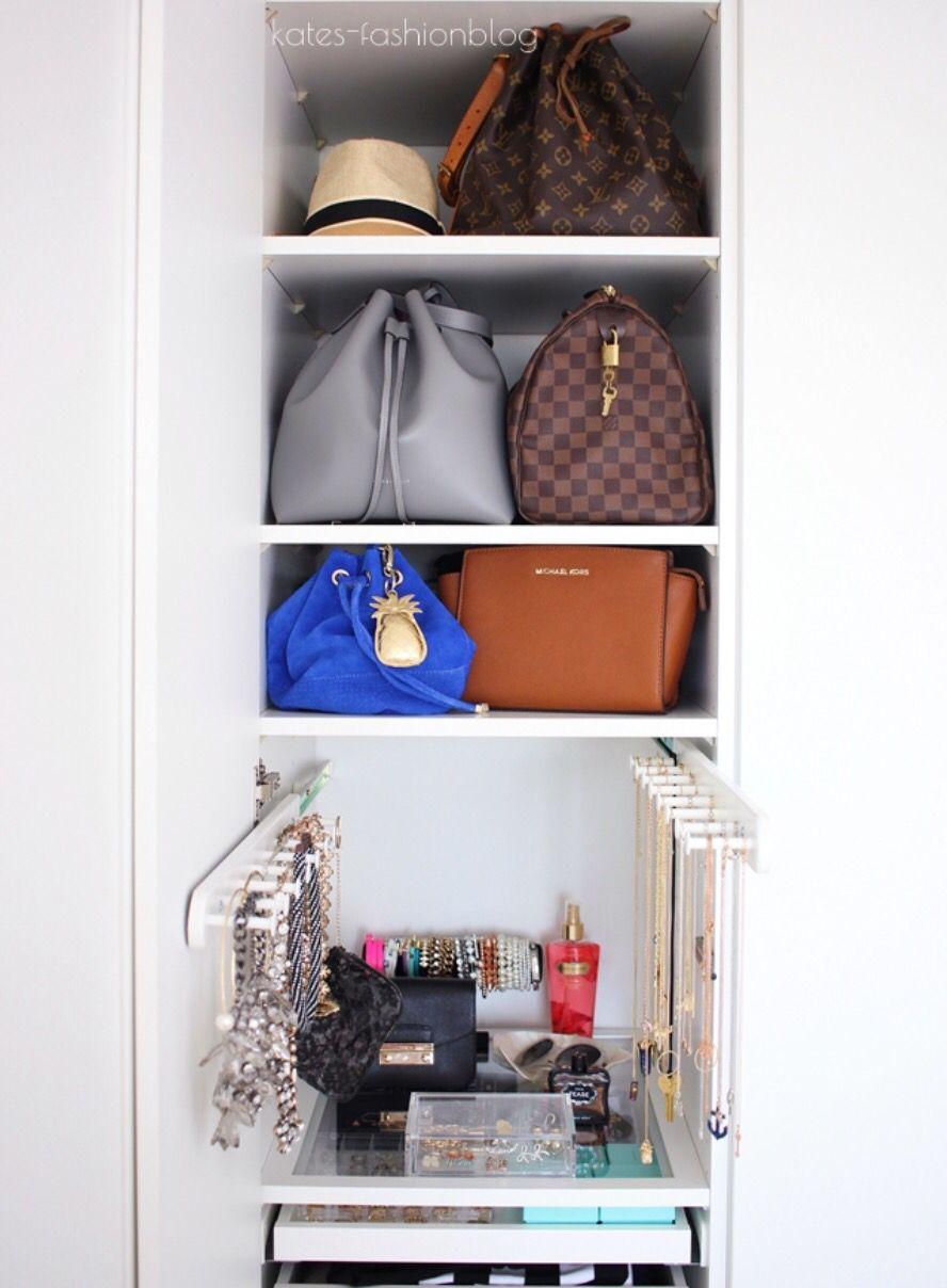 Taschen Und Schmuckaufbewahrung Ikea Schranksystem Schrank