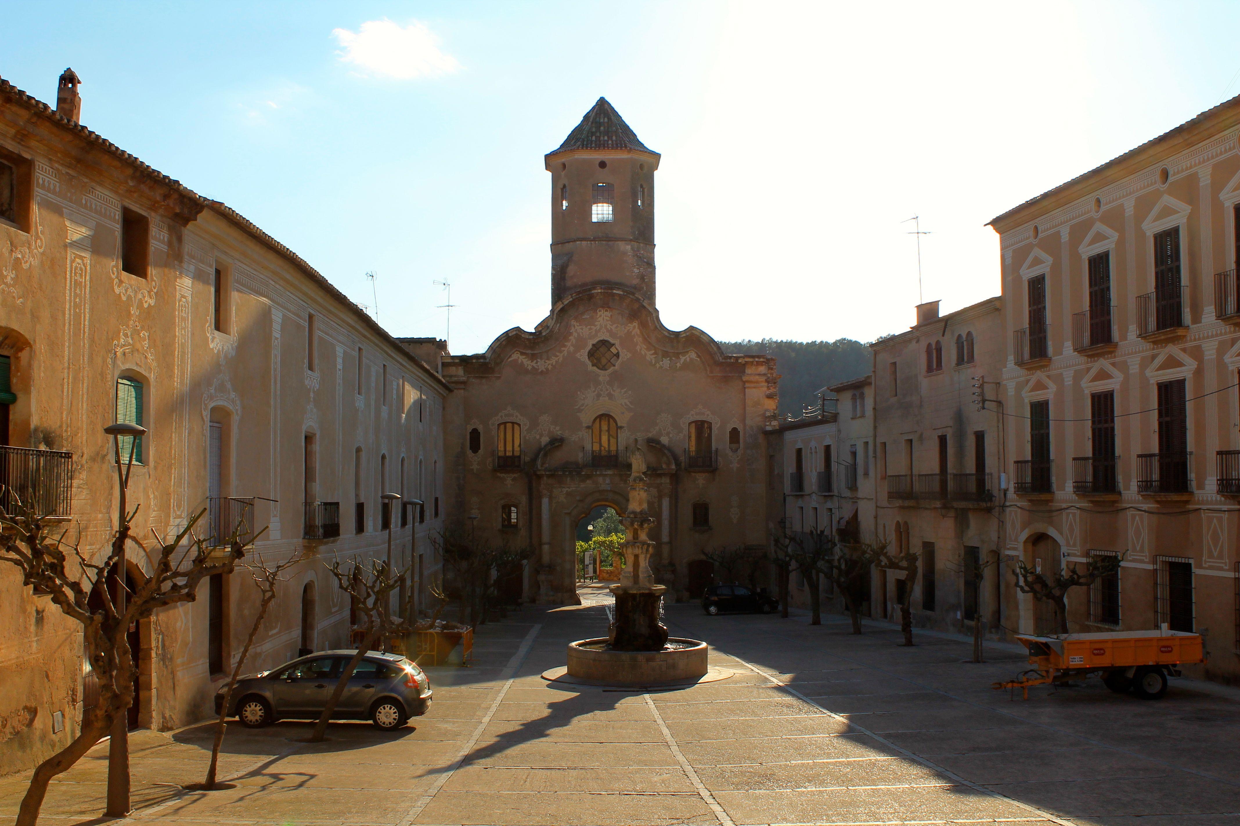 Interior of the Monastery of Santes Creus, Province of Tarragona, Catalonia, Spain for the digital magazine Via Tarraco