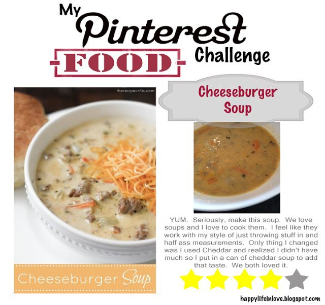 My Pinterest Food Challenge - Day Two