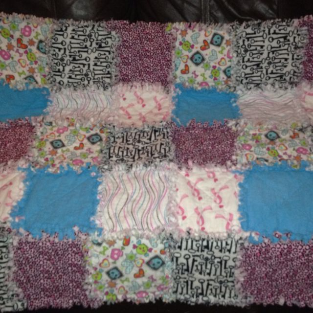 My new blanket. Specially made for me!