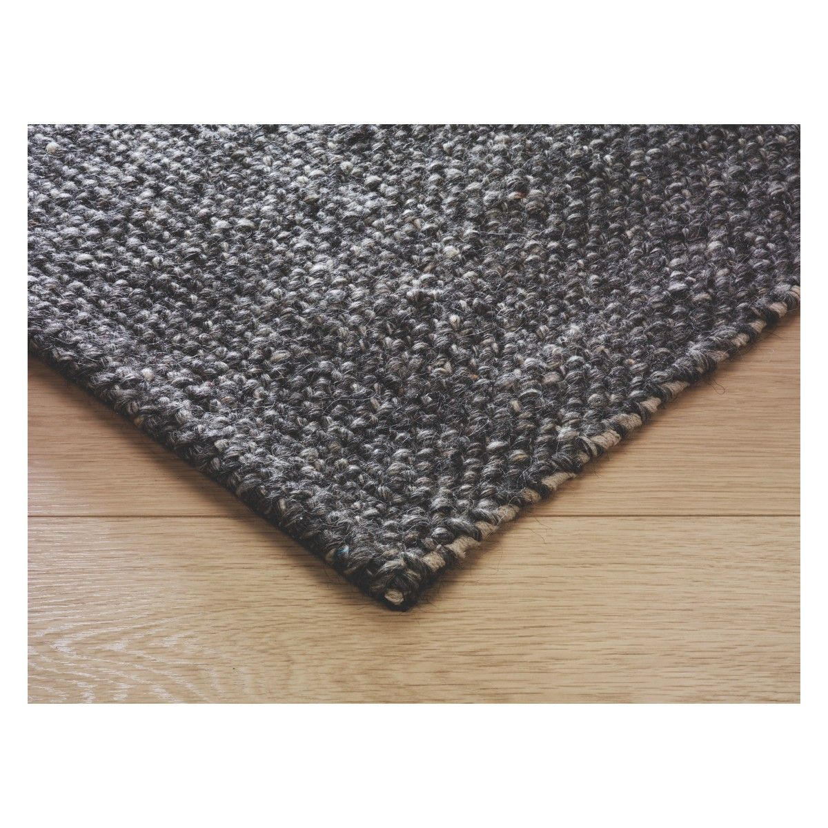 Roderick Large Brown Wool Rug 170 X 240cm Now At