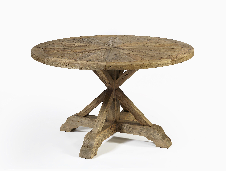 se 1233 24 op4 mesa redonda madera envejecida 150x150x78 - Mesa Redonda Madera