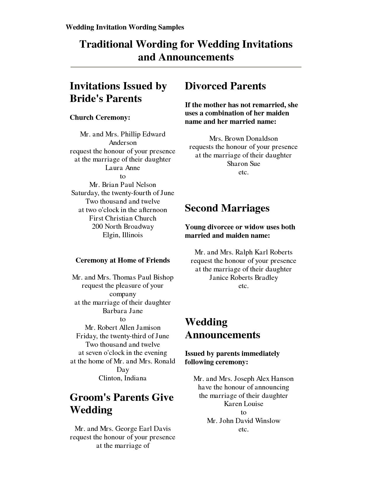 1650 · 129 kB · png, Formal Wedding Invitation Wordin