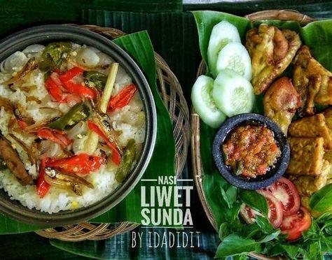 Resep Nasi Liwet Sunda Oleh Ida Rufaida Nur Resep Resep Masakan Masakan Indonesia Resep Masakan Sehat