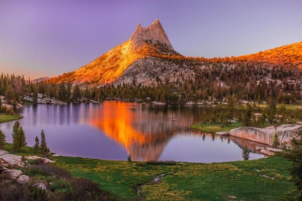 Cathedral Peak, California