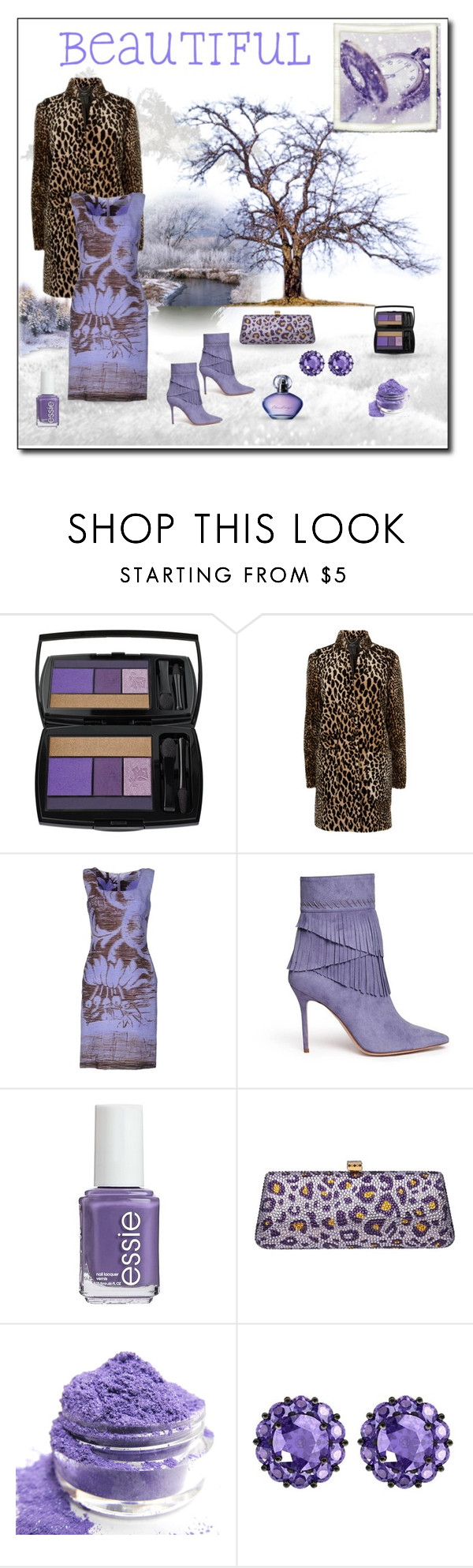 """Baby It's Cold Outside"" by neverboring on Polyvore featuring Avon, Lancôme, D.Exterior, Aperlaï, Essie and Color My Life"