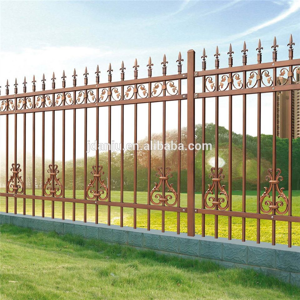Cheap Wrought Iron Fence Panels For Sale Model Dk004 Wrought Iron Fence Panels Wrought Iron Fences Fence Panels For Sale