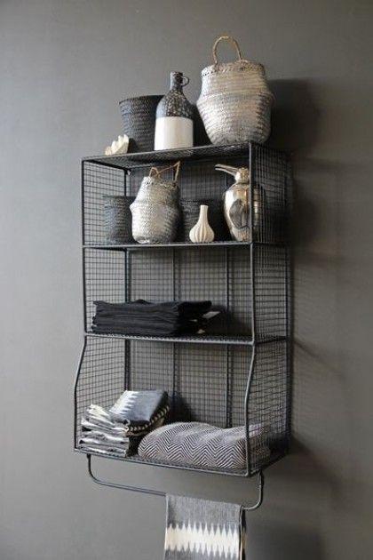 utility hanging shelves with rail feels like home shelves rh pinterest com