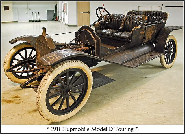 1911 Hupmobile Model D Antique Cars Old Classic Cars Retro Cars
