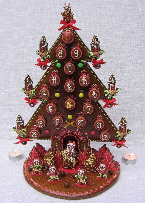 adv strom - peklo Christmas Pinterest Gingerbread, Christmas