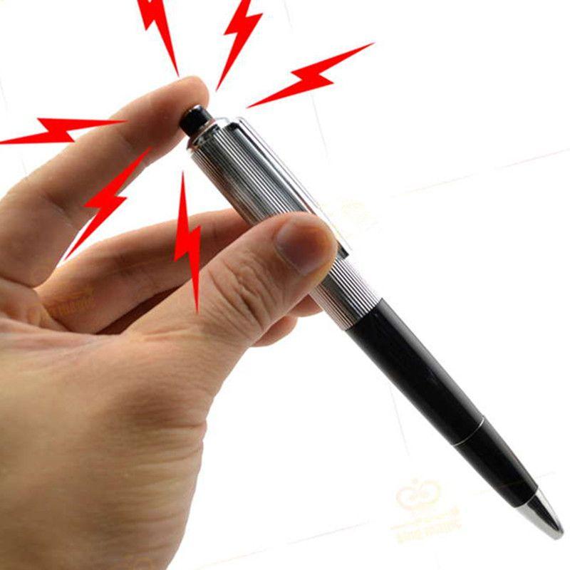 Electric Shock Pen Joke Prank Novelty Trick Fun Funny Gadget Gift Toy
