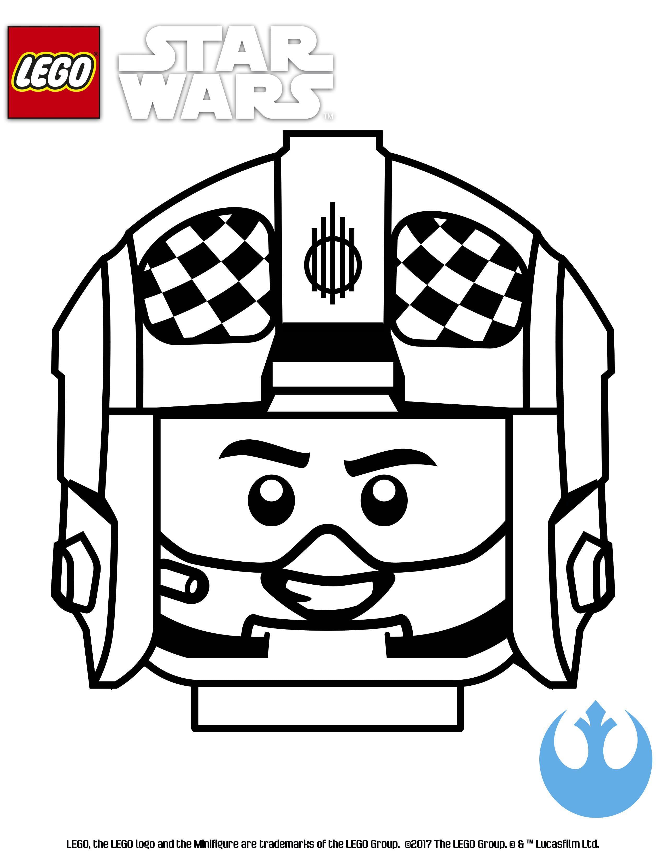 Lego Star Wars Coloring Page Blue Suadron Lego Star Wars Lego Coloring Pages Star Wars Spaceships