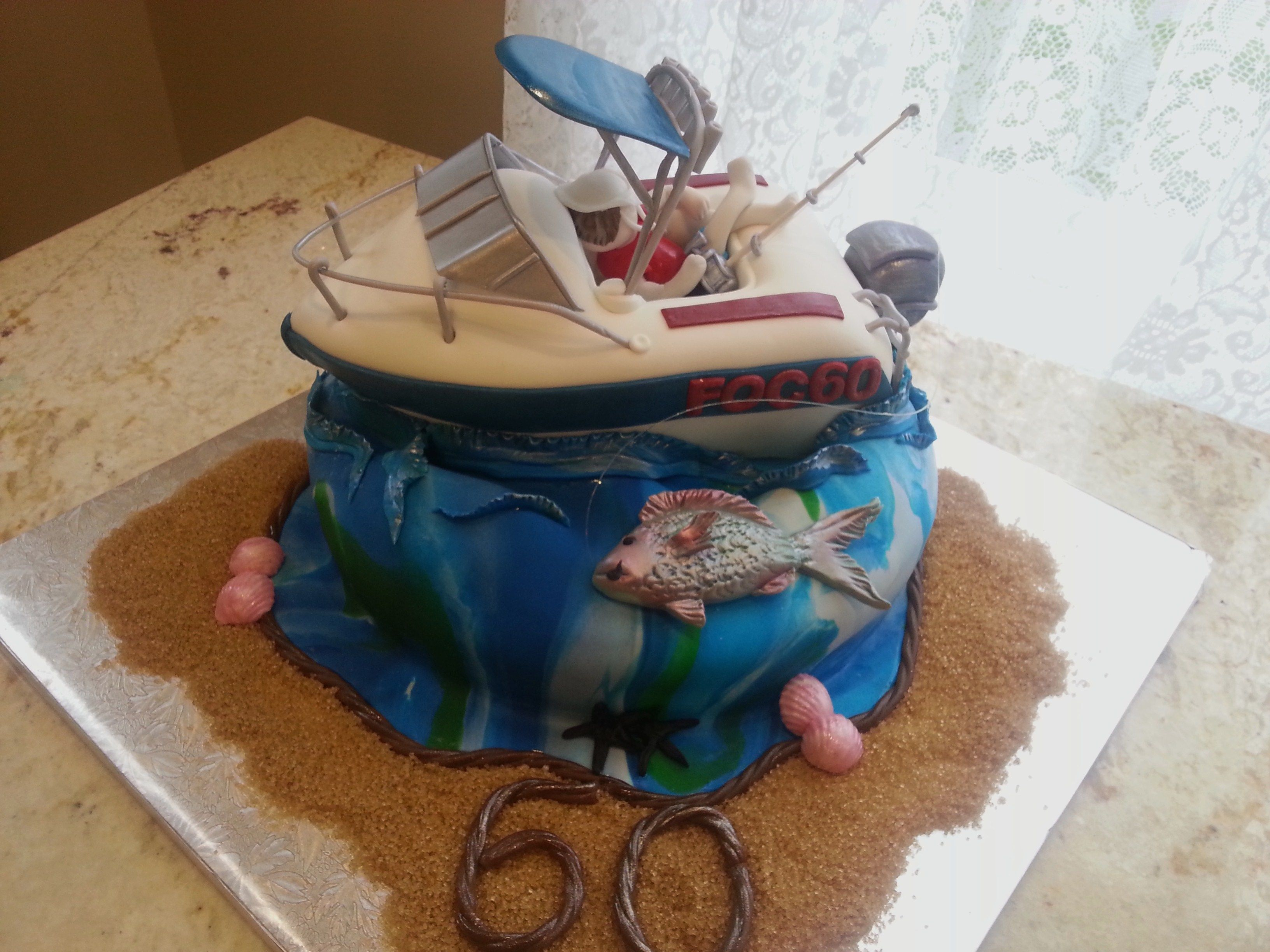 Haines Hunter 60th Birthday cake birthday cake Pinterest 60th