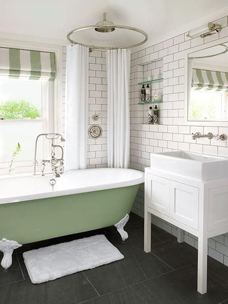 This Old House On In 2020 Clawfoot Tub Shower Bathroom