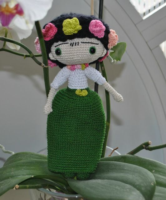 Frida de ganchillo