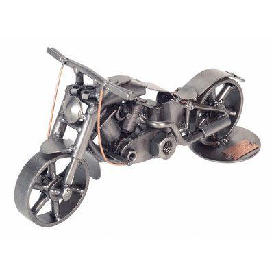 H & K SCULPTURES Motorcycle Fat Boy Sculpture & Reviews | Wayfair