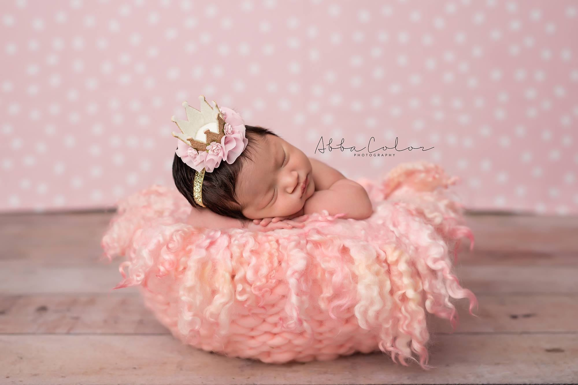 collections hat baby products newborn sale gold with bow image
