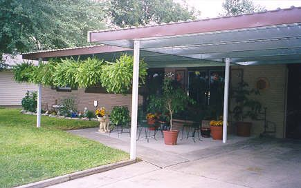 carport patio patio