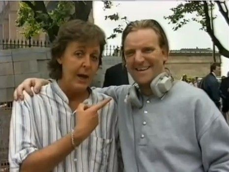 New video footage of Paul and Linda McCartney from 1992 revealed