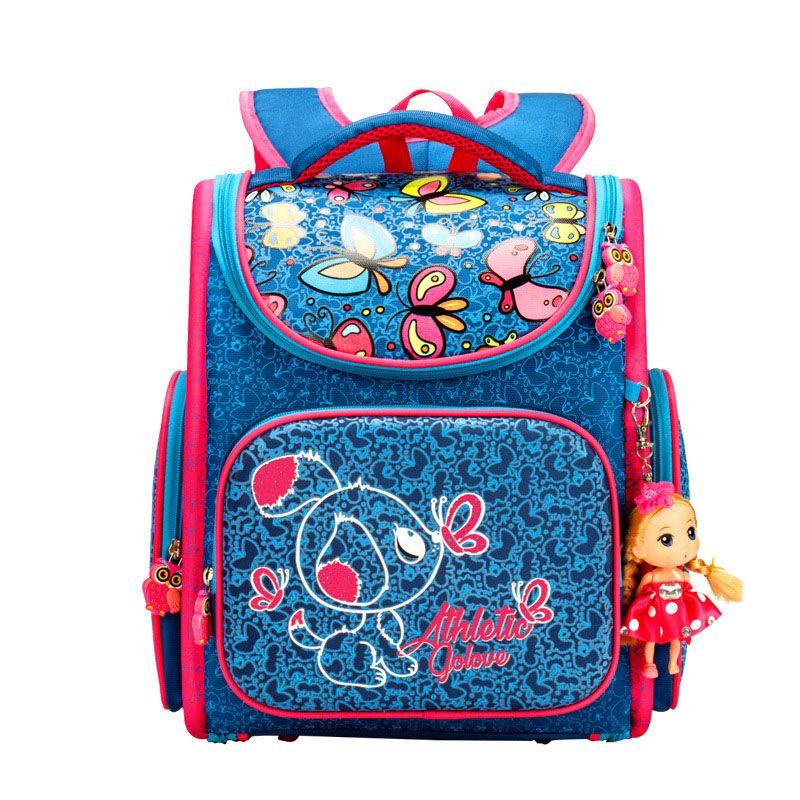 bcb5d3536106 2017 Top Quality Children School Bags for Girls Boys Waterproof Orthopedic kids  Backpacks floral School Book Bag Mochila Escolar